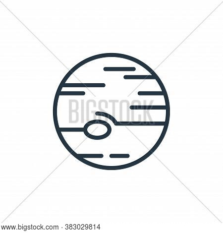 jupiter icon isolated on white background from universe collection. jupiter icon trendy and modern j
