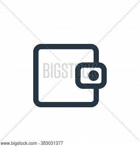 wallet icon isolated on white background from ecommerce ui collection. wallet icon trendy and modern