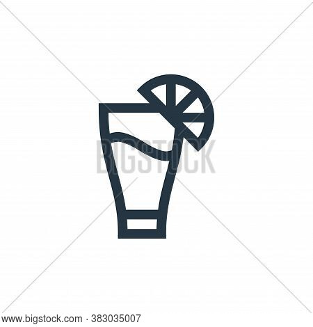 cocktail icon isolated on white background from mexico collection. cocktail icon trendy and modern c