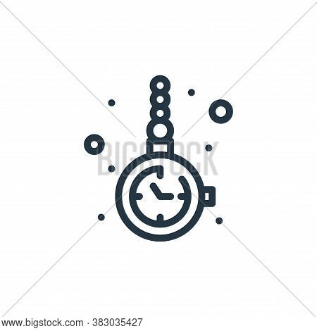 watch icon isolated on white background from jewellery collection. watch icon trendy and modern watc