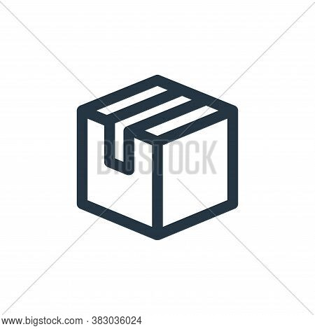 package icon isolated on white background from user interface collection. package icon trendy and mo