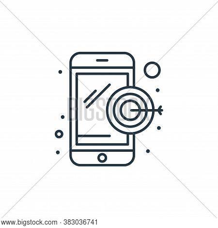marketing icon isolated on white background from digital marketing collection. marketing icon trendy