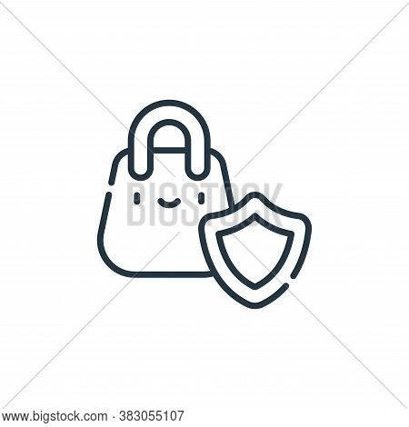 safe icon isolated on white background from cyber security collection. safe icon trendy and modern s