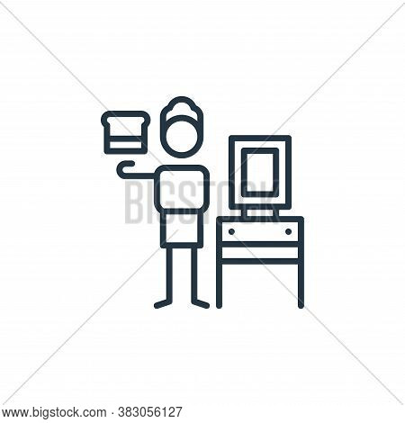 silk icon isolated on white background from arts collection. silk icon trendy and modern silk symbol