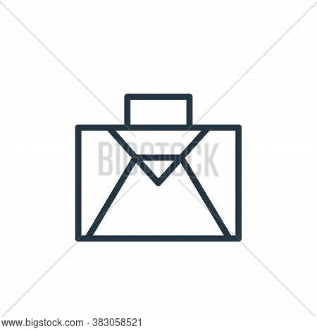 suitcase icon isolated on white background from summer collection. suitcase icon trendy and modern s
