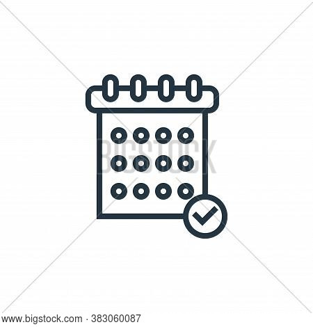 planing icon isolated on white background from banking collection. planing icon trendy and modern pl