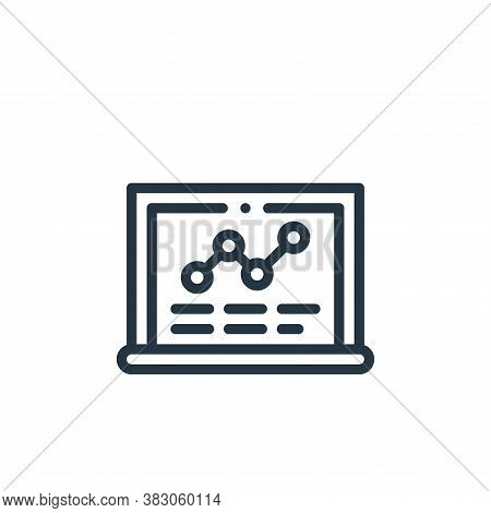 blackboard icon isolated on white background from laboratory collection. blackboard icon trendy and