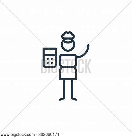 maths icon isolated on white background from arts collection. maths icon trendy and modern maths sym