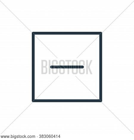 reduced icon isolated on white background from user interface collection. reduced icon trendy and mo