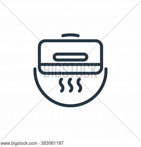 air conditioner icon isolated on white background from electrical appliances collection. air conditi