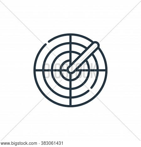 scan icon isolated on white background from cyber security collection. scan icon trendy and modern s