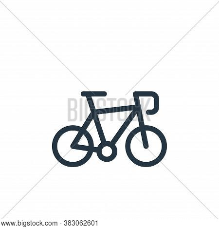 bike icon isolated on white background from daily life wake up collection. bike icon trendy and mode