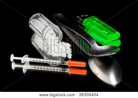 Injecting Amphetamines