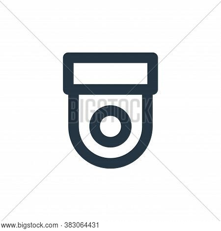cctv icon isolated on white background from security collection. cctv icon trendy and modern cctv sy