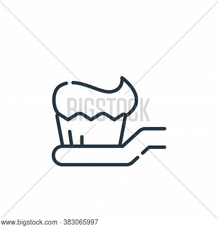 toothbrush icon isolated on white background from dentist collection. toothbrush icon trendy and mod