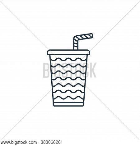 beverages icon isolated on white background from carnival collection. beverages icon trendy and mode
