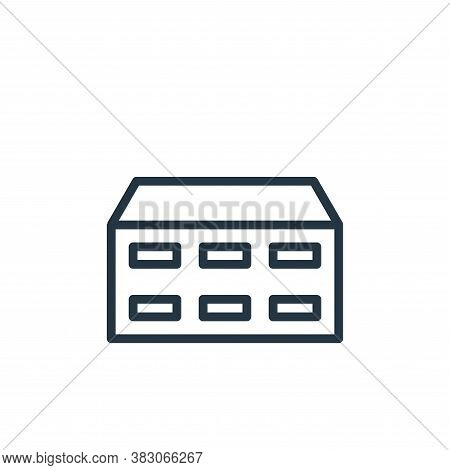 data storage icon isolated on white background from computer hardware collection. data storage icon