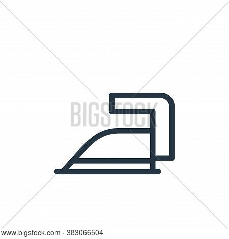 iron icon isolated on white background from daily life wake up collection. iron icon trendy and mode