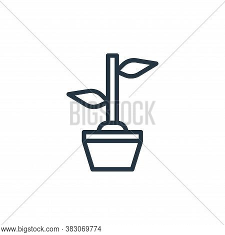 botanic icon isolated on white background from summer collection. botanic icon trendy and modern bot