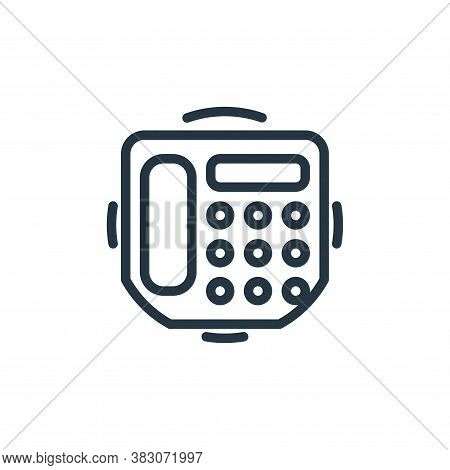 fax icon isolated on white background from electrical appliances collection. fax icon trendy and mod