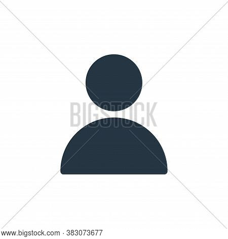 user icon isolated on white background from sosmed collection. user icon trendy and modern user symb