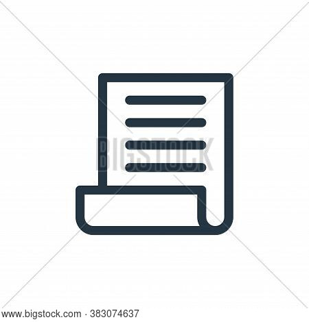 file icon isolated on white background from business and office collection. file icon trendy and mod