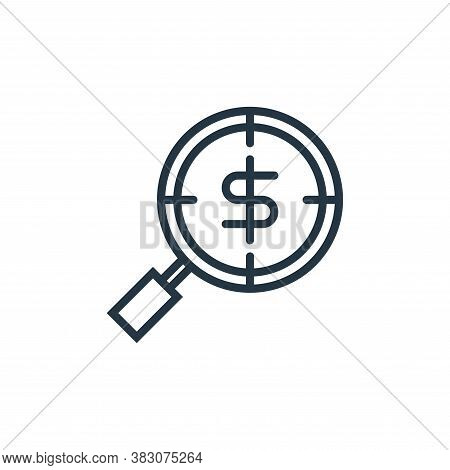 find icon isolated on white background from business marketing collection. find icon trendy and mode