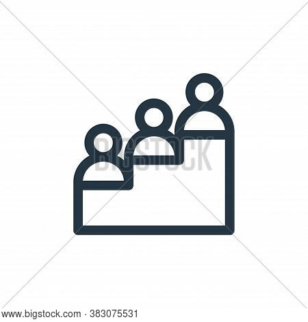 progress icon isolated on white background from business administration collection. progress icon tr