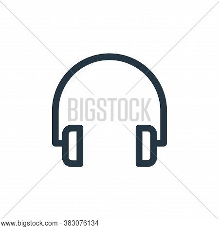 headset icon isolated on white background from miscellaneous collection. headset icon trendy and mod