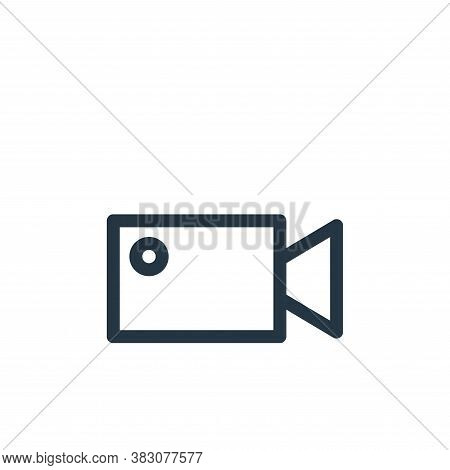 video recorder icon isolated on white background from miscellaneous collection. video recorder icon