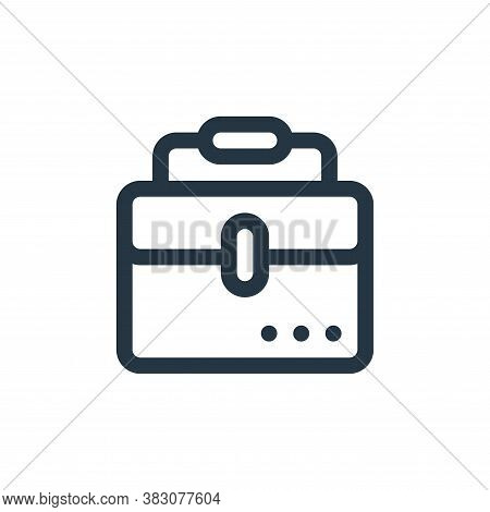 bag icon isolated on white background from fintech collection. bag icon trendy and modern bag symbol