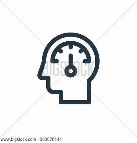 analyze icon isolated on white background from business administration collection. analyze icon tren