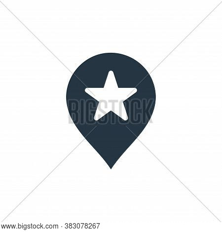 location pin icon isolated on white background from maps and navigation collection. location pin ico
