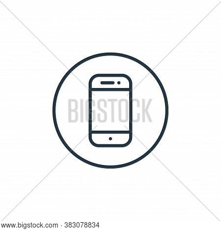phone icon isolated on white background from general collection. phone icon trendy and modern phone