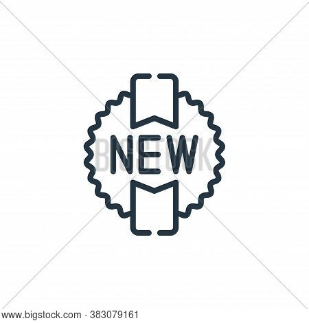 new icon isolated on white background from cyber monday collection. new icon trendy and modern new s