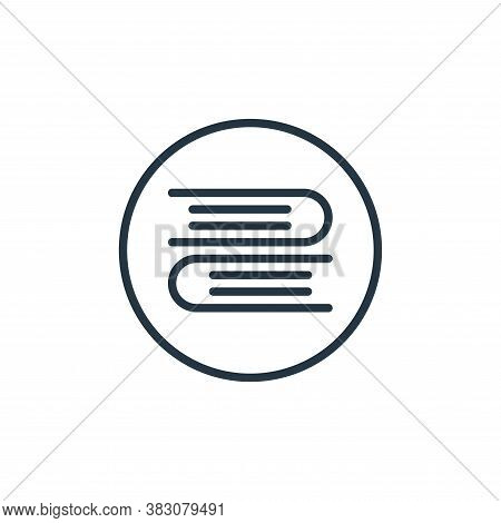 book icon isolated on white background from online learning collection. book icon trendy and modern
