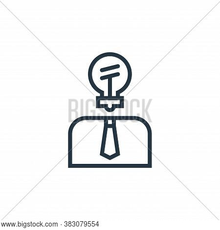 innovation icon isolated on white background from business marketing collection. innovation icon tre