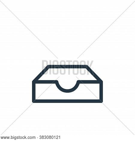inbox icon isolated on white background from ui collection. inbox icon trendy and modern inbox symbo