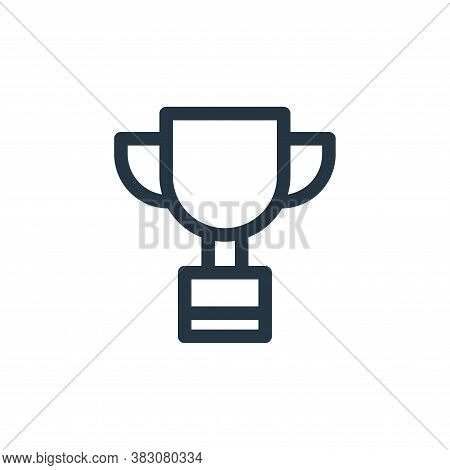 trophy icon isolated on white background from miscellaneous collection. trophy icon trendy and moder