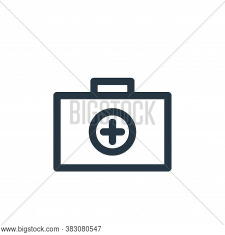 first aid kit icon isolated on white background from miscellaneous collection. first aid kit icon tr