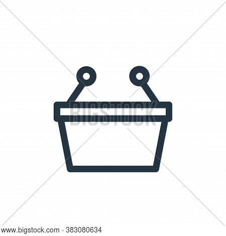 basket icon isolated on white background from miscellaneous collection. basket icon trendy and moder