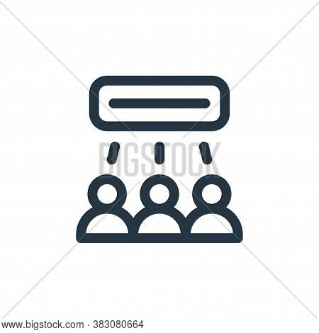 networking icon isolated on white background from business administration collection. networking ico