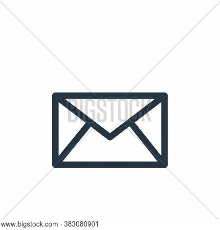 mail icon isolated on white background from miscellaneous collection. mail icon trendy and modern ma