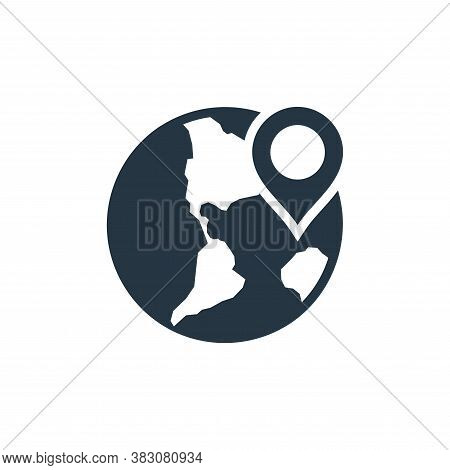 location icon isolated on white background from maps and navigation collection. location icon trendy