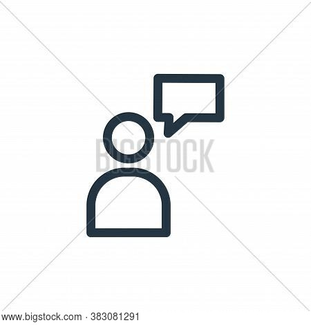 profile icon isolated on white background from miscellaneous collection. profile icon trendy and mod