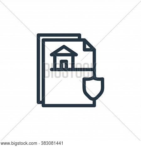franchise agreement icon isolated on white background from protection collection. franchise agreemen