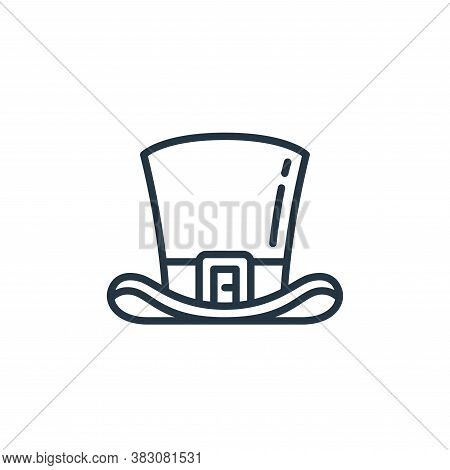 hat icon isolated on white background from st patricks day collection. hat icon trendy and modern ha