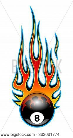 Classic Tribal Hotrod Muscle Car Flame Pattern.  Can Be Used As Decals Or Even Tattoos Too.
