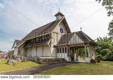 Taiping, Malaysia, August 31St 2020: All Saints Church Taiping Is Among The Oldest Church In Malaysi