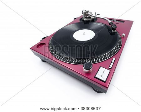 Wide Angle Turntable